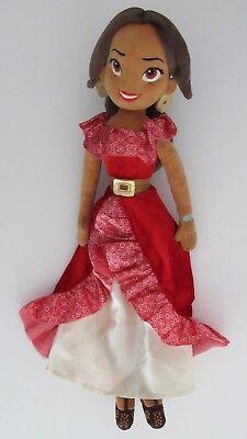 "Disney Store Elena of Avalor Plush Doll 20"" Stuffed Animal"