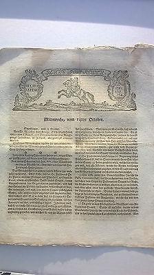 1761 164 Zeitung Siebenjährigen Krieg Neuchâtel