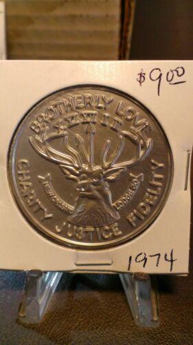 1974 Elks 10 gauge Aluminum Doubloon