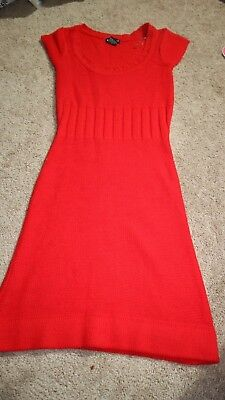 Wet Sealsweater dress Size Small Red Valentines Day Party Fitted Cocktail Career](Valentines Day Party)