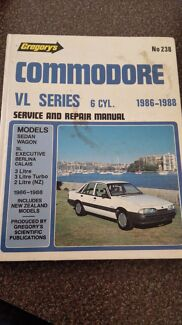 VL Commodore workshop manual Greenwith Tea Tree Gully Area Preview