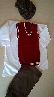 Victorian-WW2-1930s-1940s-Village-Costume-Boys-schools-history-time age  6-8 - Village Boy Kostüm