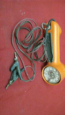Vintage Western Electric Buttset Test Telephone Handset 4