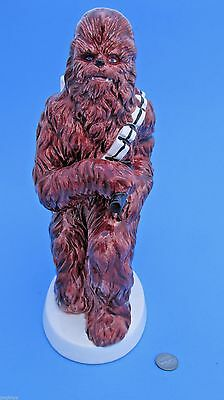 """CERAMIC BANK 1982 vintage CHEWBACCA Sigma - Star Wars - 10"""" TALL! collectible"""