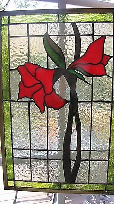 Stained Glass Window Panel Suncatcher