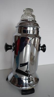 Antike Kaffeemaschine Perkolator Kaffeebereiter elektrisch Linnschiff 1,5 l 50er