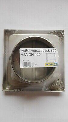 Aussenverschlussklappe Stainless Steel / Air Vent DN125 (771703) New/Boxed