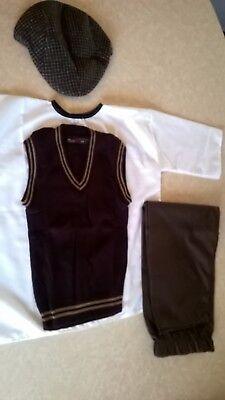 Victorian-WW2-1930s-1940s-Village-Costume-Boys-schools-history-time age  11-13 - Village Boy Kostüm