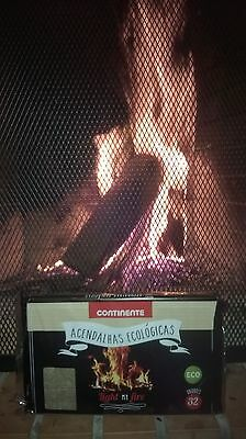 Pack of 32 cubes Fireplace Firelighters!Free Shipping!Environmentally - Environmentally Friendly Fireplaces