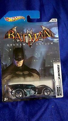 Hot Wheels Batman Arkham Asylum Batmobile #6/8 Die-Cast Rare 1:64 Scale Mattel