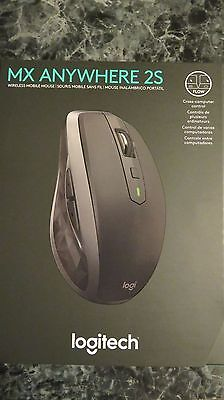 Logitech Mx Anywhere 2S Wireless Mouse With Flow Cross Computer Control And More
