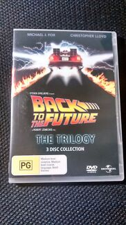 Back to the Future Trilogy 3DVD - Michael J Fox Dulwich Hill Marrickville Area Preview