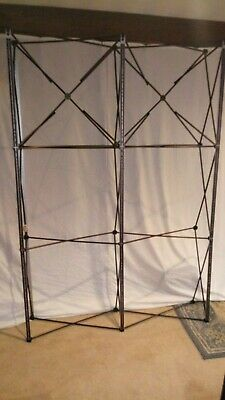 Nomadic Plus Frame 2x3 Quad Used Pop Up Display Exhibit Trade Show Works Great