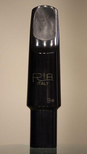 Ria 9* hard rubber tenor sax mouthpiece