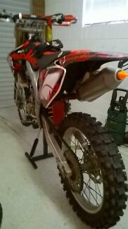 Honda CRF 450r Howrah Clarence Area Preview