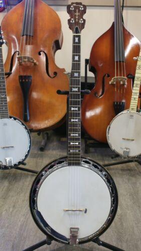 Vintage Early Alvarez 5 String Banjo w Hard Case