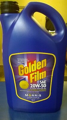 MORRIS 20W50 GOLDEN FILM CLASSIC ENGINE OIL (5 Litres)
