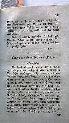1820 35 Italien / Revolution in Italien