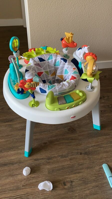 Fisher Price 2-in-1 Sit-to-stand Baby / Toddler Activity Center, Music & Lights
