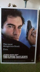 James Bond movie poster (1987) $20