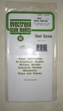Evergreen Sheet Styrene Metal Roofing 040 Quot Thick 1 2
