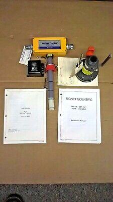 Signet Scientific Mighty-mag Flo Sensor Mk565v3 Wvalve P31940