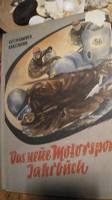 Das Neue Motorsport Jahrbuch 1956 Rosenhammer Berlin Motorrad Rennsportwagen ()