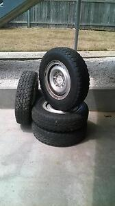 Used Tyres and rims Devonport Devonport Area Preview