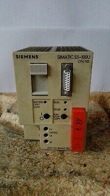 Siemens Simatic S5-100U CPU 103 Tipo: S5 6ES5 103-8MA02 + Eprom come Nuovo