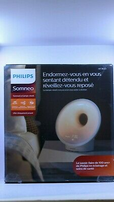 Philips HF3650/60 Somneo Sleep & Wake Up Therapy Light - White Open Box