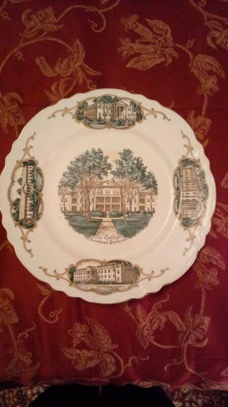 "Homer Laughlin 10"" Souvenir Plate Lee College Cleveland TN Church of God"