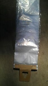 1000 Poly Newspaper Bags (or Dog waste) Clear 5.5