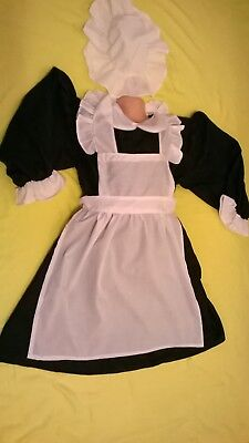 Victorian WW2 1930s, 40s Village medieval Costume for girls schools history time (Ww2 Costumes For Kids)