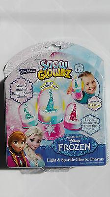 Disney Frozen Snow Glowbz Light  and Sparkle Globe Charms 6+~led light up base - Snow Glowbz