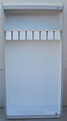 Stanley Innerspace Surgical Supply Cabinet W Roll-top Locking Tamboor Door
