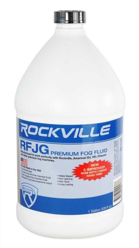 Rockville RFJG Gallon Fog/Smoke Juice Fluid For Chauvet American DJ ADJ Machines