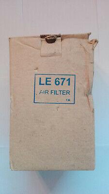 Air Filter / Luftfiler  , Typ: LE671 , LE 671 NEU/OVP