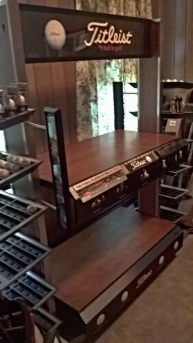 Titleist Golf Ball display floor model Very Rare### NO SHIPPING ON THIS ITEM###