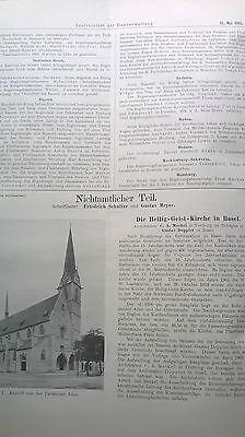 1915  39 Heilig Geist Kirche Basel