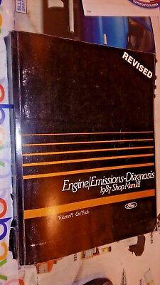 1987 Ford Truck   Car Engine Emissions   Diagnosis Manual Gasoline Models Only