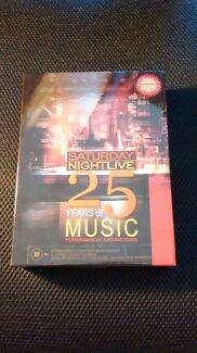 Saturday Night Live 25 Years of Music 5DVD set Dulwich Hill Marrickville Area Preview