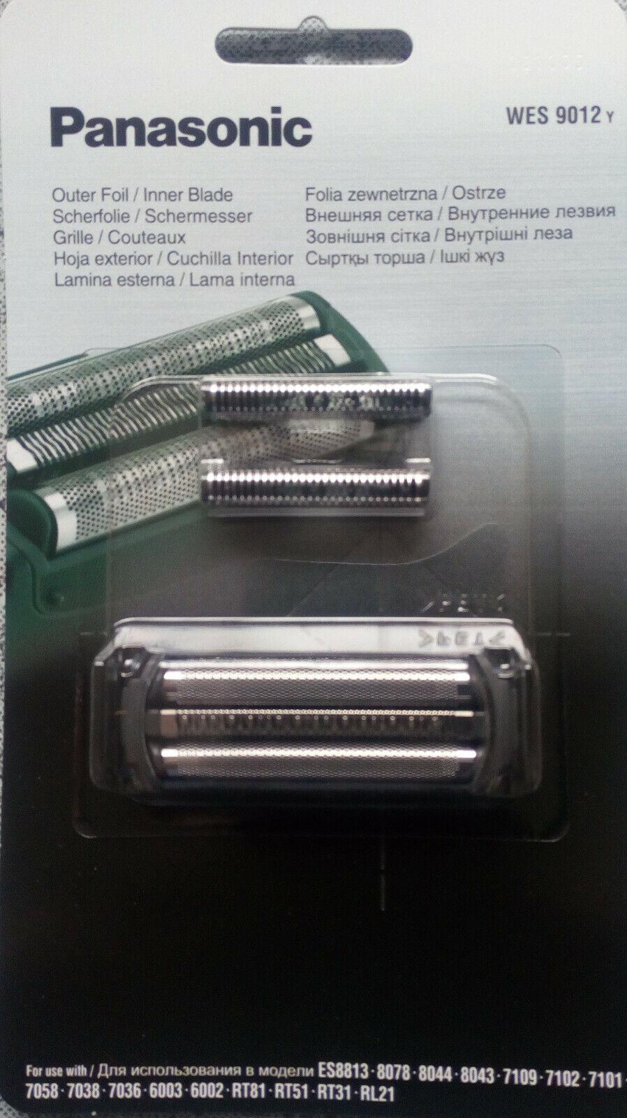 Panasonic WES9012 Messer und Folie f. ES-RT81ES-RL21,ES6002,ES6003,ES7036