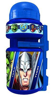 Bidon y Portabidon Infantil Niño Niña Bicicleta Los Vengadores Avengers 6207