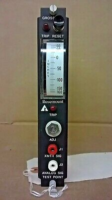 Rosemount Master Trip Unit Model 510du........... Ge Dts-151259