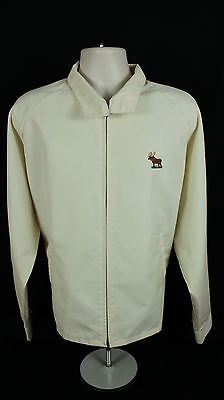 Loyal Order of the Moose Lightweight Membership Jacket Beige Size Men's XXL