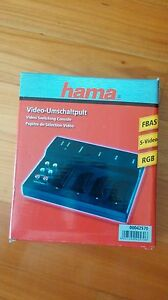 Hama Switch 3 Uscite Scart RCA A/V, Nero - Italia - Hama Switch 3 Uscite Scart RCA A/V, Nero - Italia