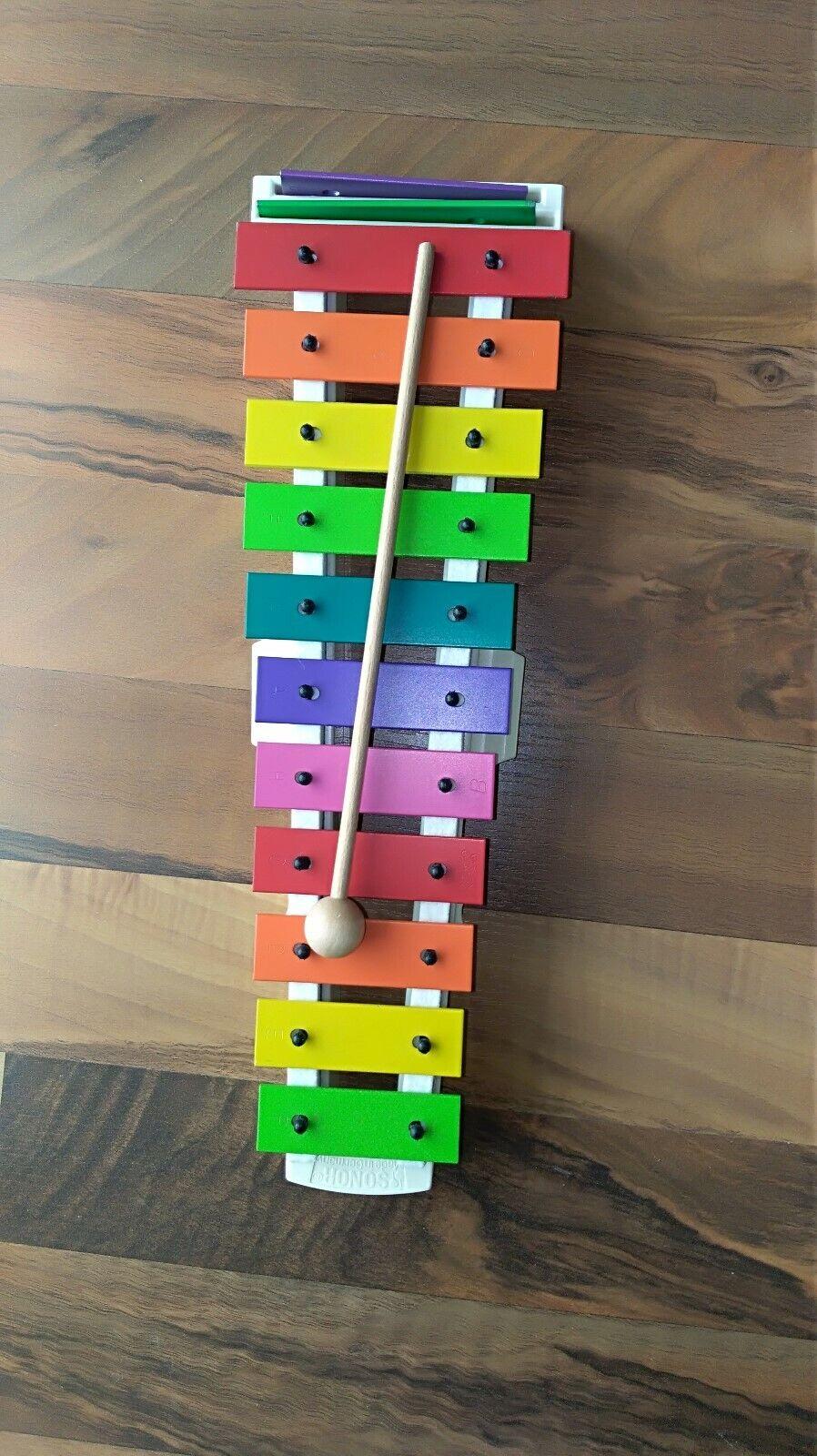 Sonor Xylophon Glockenspiel★ für Kinder★ wie NEU