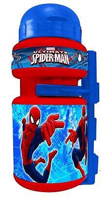 Bidon y Portabidon Infantil Niño Niña para Bicicleta de Marvel Spiderman 6213