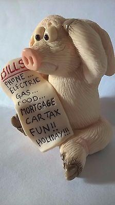 PIGGIN BILLS DAVID CORBRIDGE COLLECTIBLE WORLD PIG FARM ORNAMENT