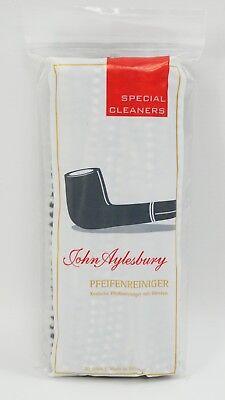 Schwarze Pfeifenreiniger (80 STÜCK John Aylesbury Pfeifenreiniger NEU Chenilledraht konisch, schwarz-weiss)